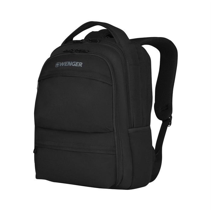 "Wenger Fuse 15.6"" Laptop & Tablet Black Backpack"