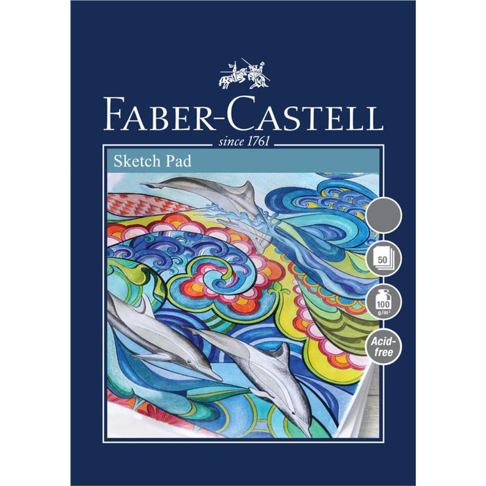 Faber Castell Creative Studio 50 Sheet Sketch Paper Pad