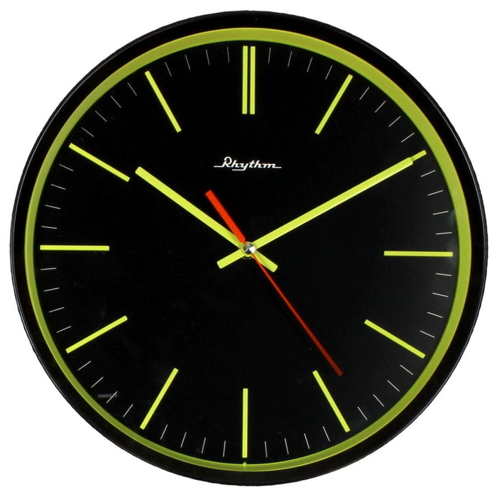 Rhythm Silent Silky Movement 3D 30cm Wall Clock