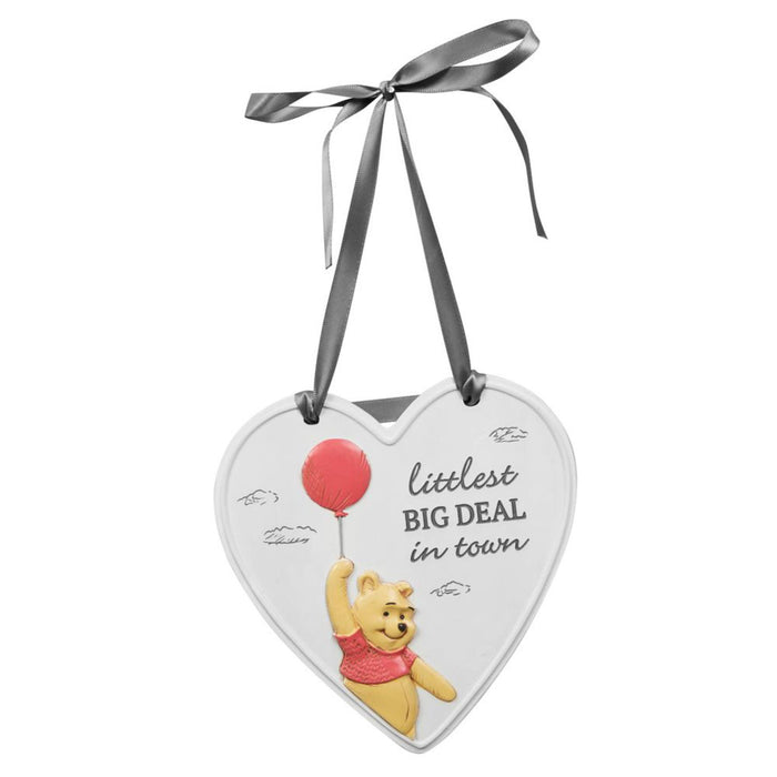 Christopher Robin / Winnie The Pooh Resin 3D Heart Hanging Plaque
