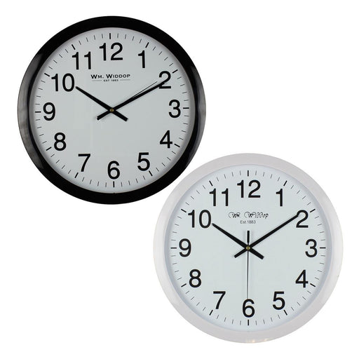 Wm.Widdop Round 40cm Wall Clock