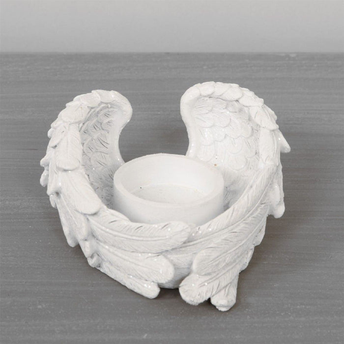 Thoughts Of You Cherub Wings Tealight Holder Set of 3