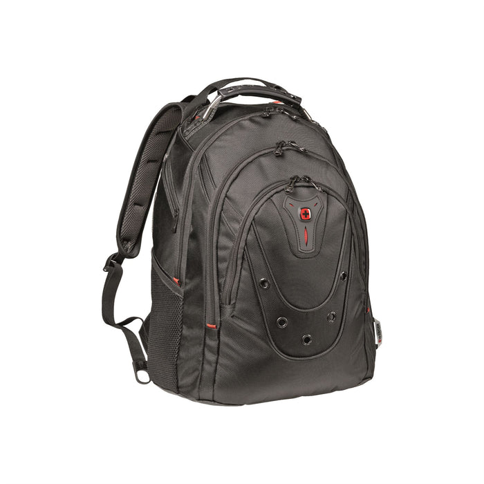"Wenger Ibex 16"" Slim Black Backpack"