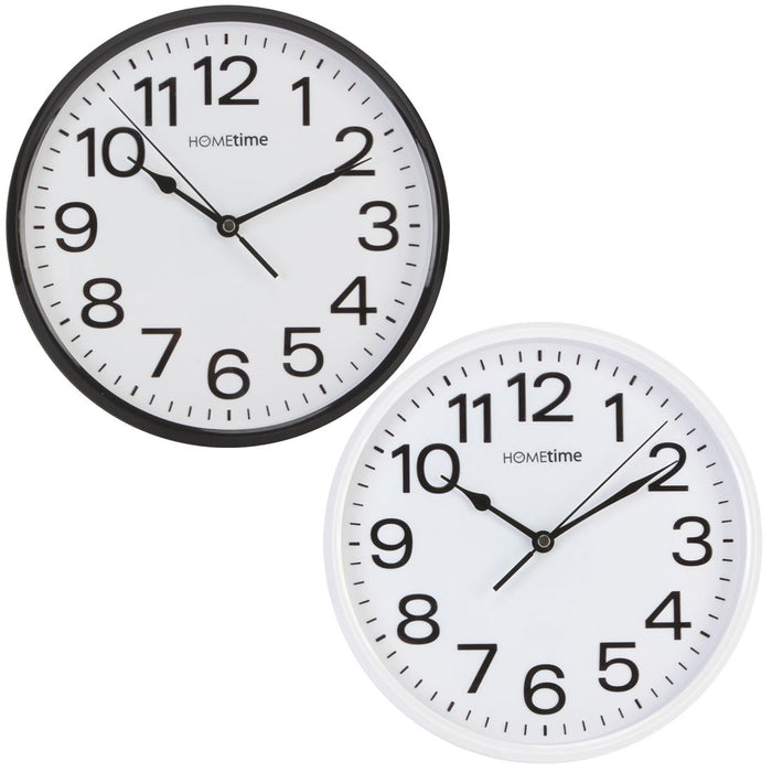Hometime Silent Sweep Wall Clock
