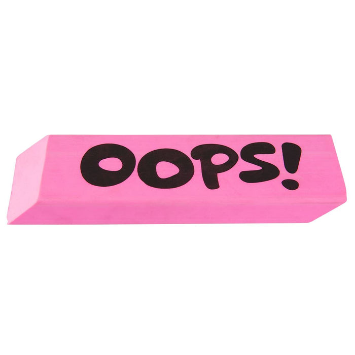 Silly Gifts 'Oops!' Pink Rubber