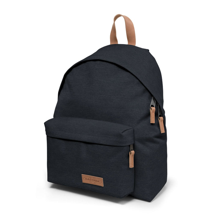 Eastpak Padded Pak'r Leather Trim Backpacks