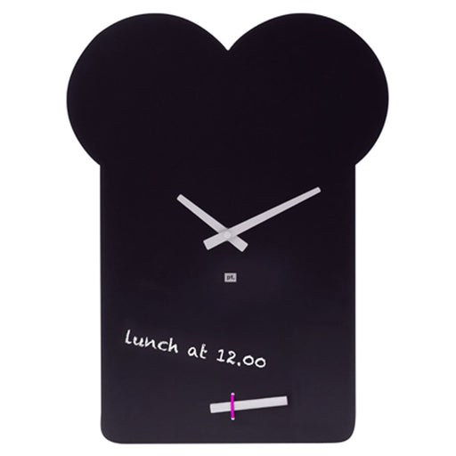 Present Time 30cm Blackboard Sandwich Wall Clock