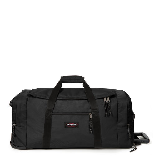 Eastpak Leatherface M + Medium Black Rolling Holdall