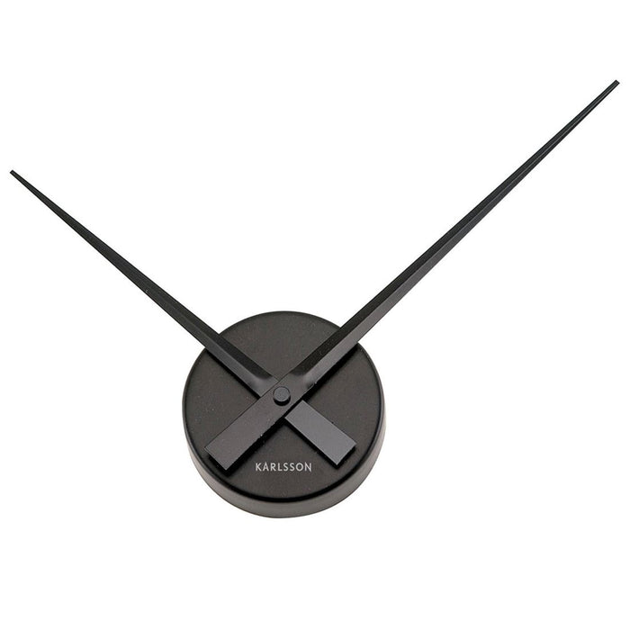 Karlsson Little Big Time Mini Aluminum Wall Clock