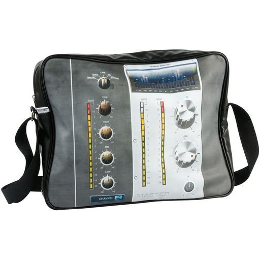 Silly Gifts Sound Lab Control Black Messenger Bag