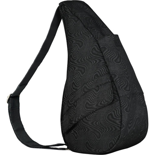 Healthy Back Bag Moire Black Small Shoulder Bag