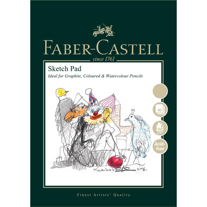 Faber Castell 40 Sheet Sketch Paper Pad
