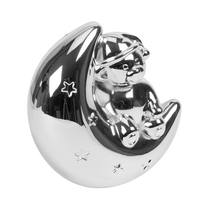 Bambino Silverplated Money Box