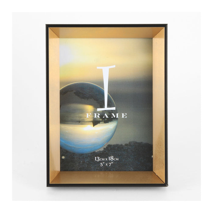 iFrame Black & Gold 3D Photo Frame