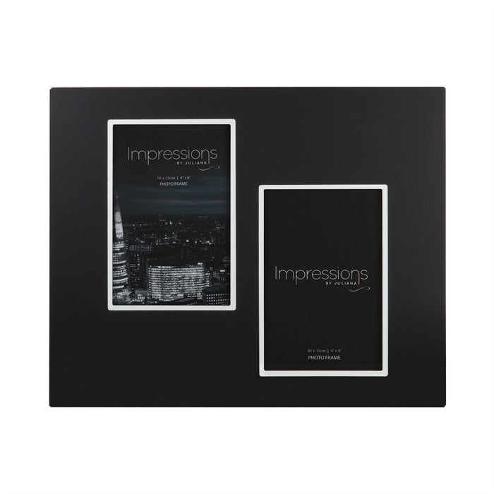 Impressions By Juliana Black Aluminium Photo Frame