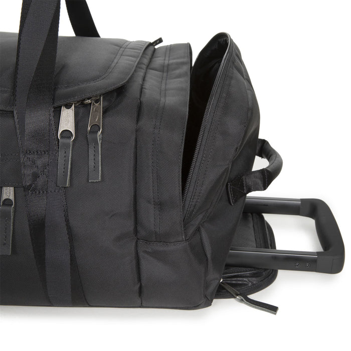 Eastpak Leatherface S Constructed Black Rolling Holdall