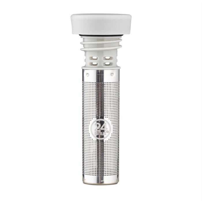 24Bottles Clima Infuser Bottle 500ml Insulated Stainless Steel Drinks Bottle & Infuser Lid