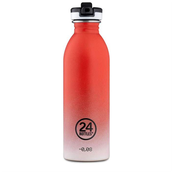 24Bottles 500ml Sports Cap Urban Bottle Stainless Steel Drinks Bottle