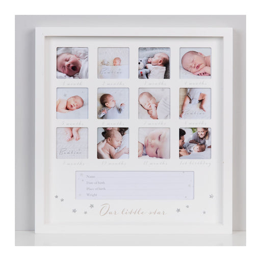 Bambino 1st Year Multi Aperture Picture Frame