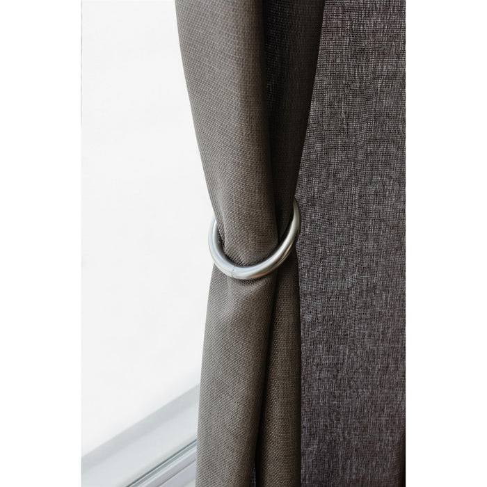 Umbra Halo Nickel Metal Magnetic Curtain Ties