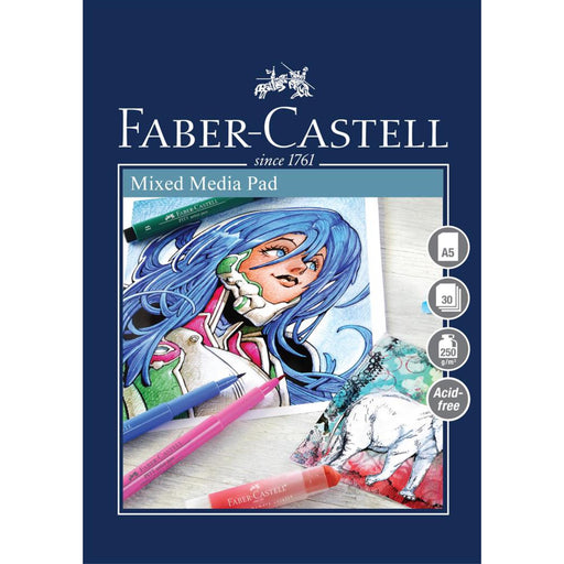 Faber Castell Creative Studio 30 Sheet Mixed Media Paper Pad
