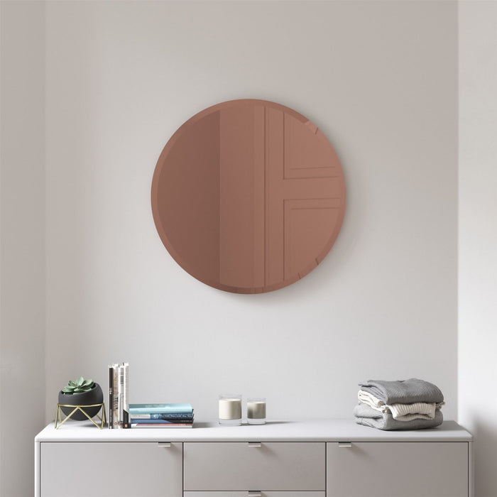 Umbra Hub Bevy 24 Mirror with Beveled Edge
