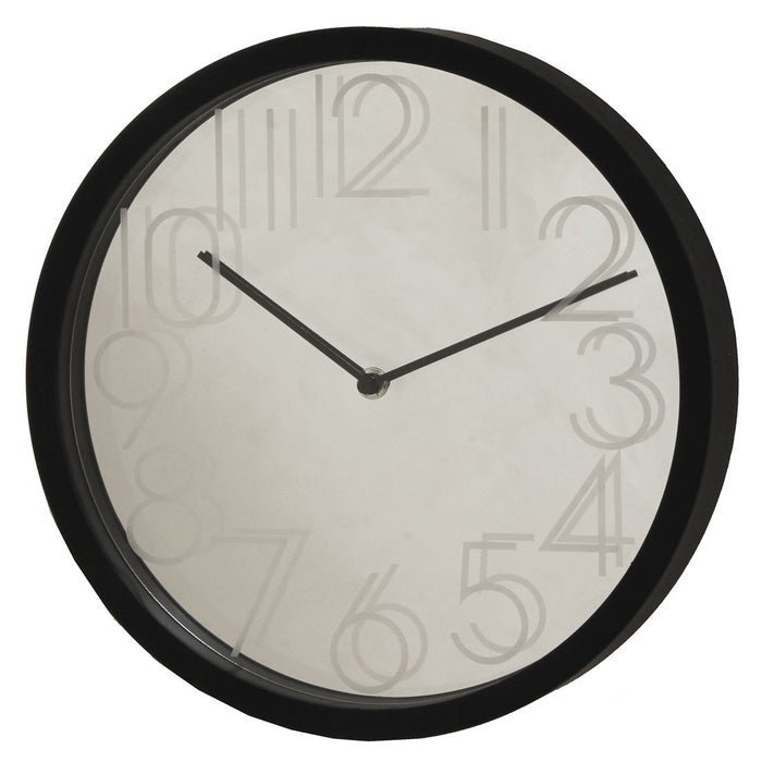 Hometime Reflection 30cm Mirror Wall Clock