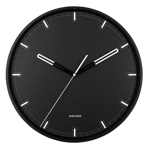 Karlsson Dipped Iron Silent 40cm Wall Clock