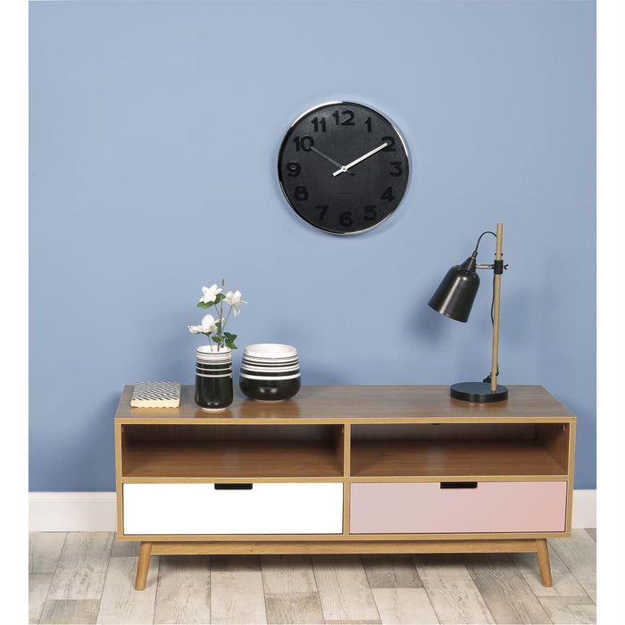 Karlsson Mr. White 37.5cm Wall Clock