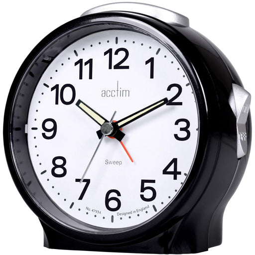Acctim Elsie Silent Movement Alarm Clock