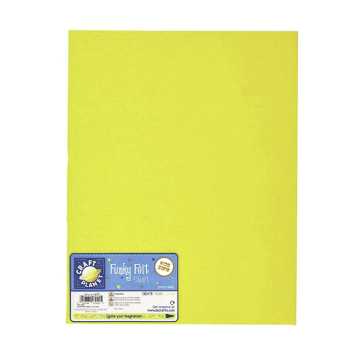 "Craft Planet 9 x 12"" Acrylic Felt Sheet"