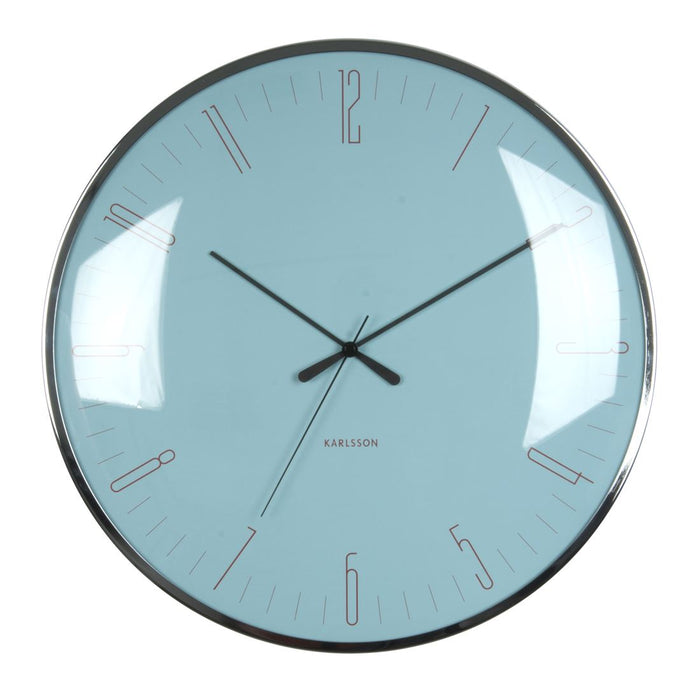 Karlsson Dragonfly Glass Dome 40cm Wall Clock