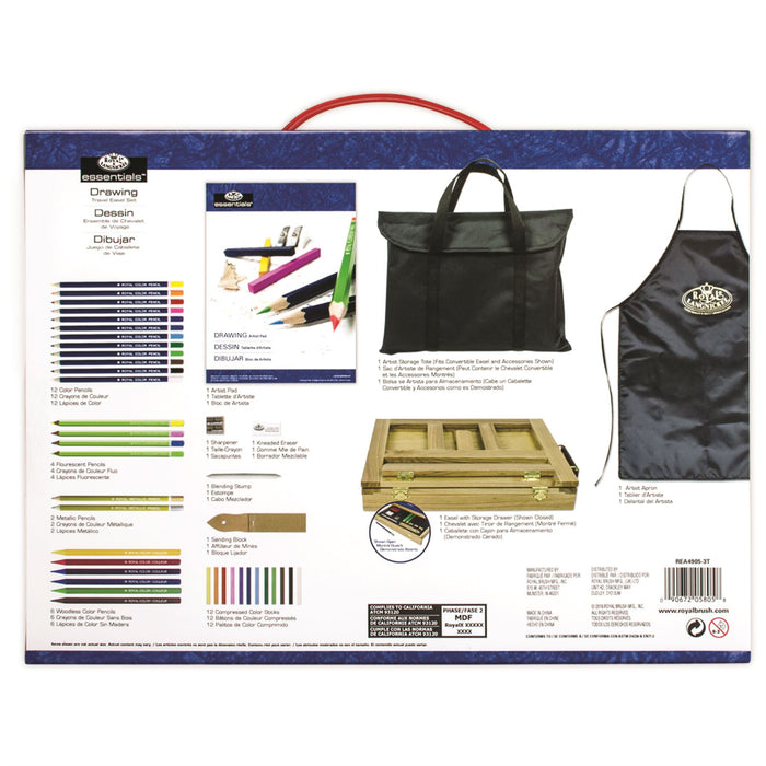 Royal & Langnickel Travel Easel Art Sets