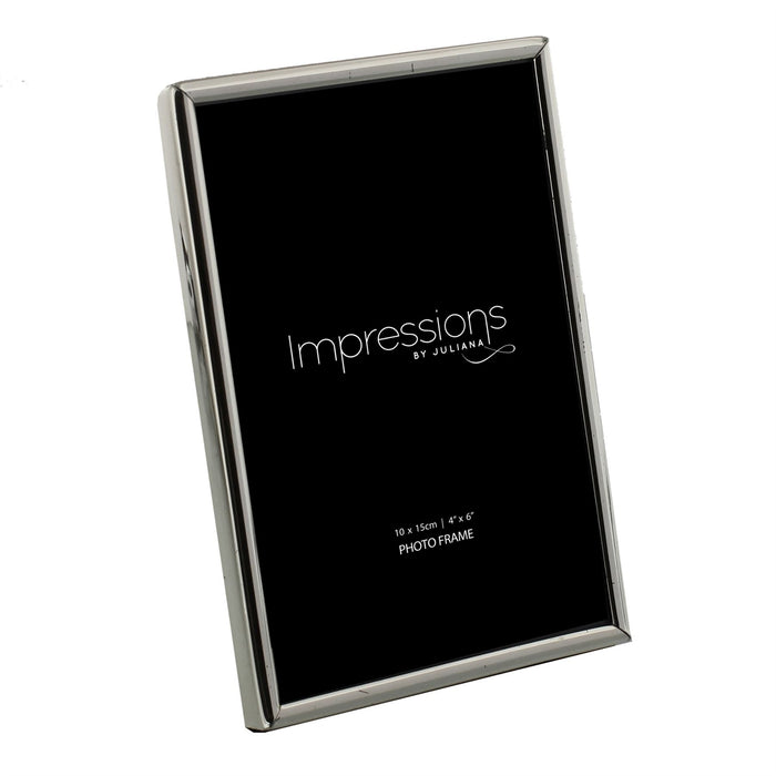 Impressions By Juliana Silverplated Thin Bezel Photo Frame