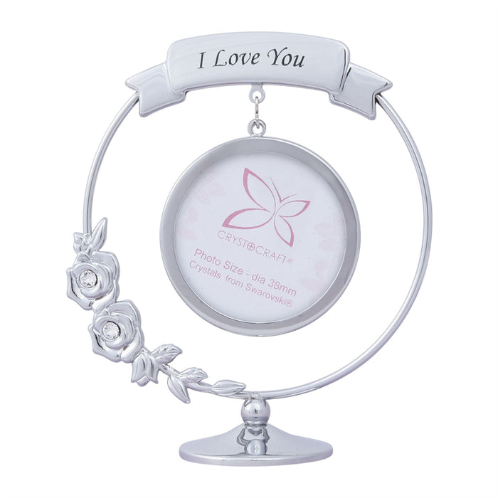 Crystocraft Photo Frame Swarovski Crystal Ornament