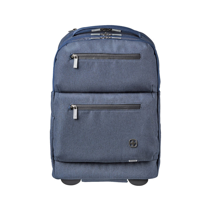 Wenger CityPatrol Navy Blue Rolling Backpack