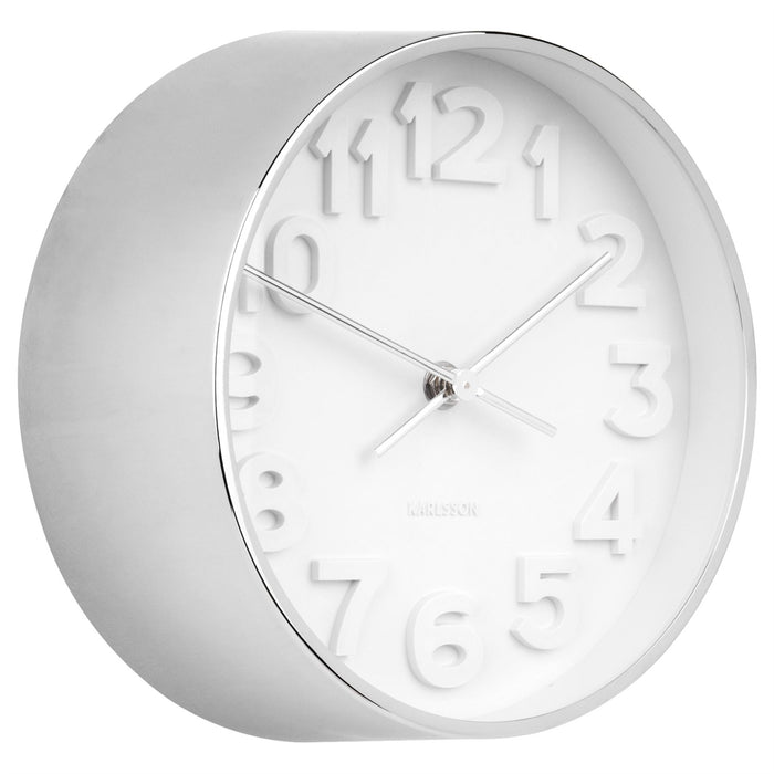 Karlsson Stout Steel 22cm Wall Clock