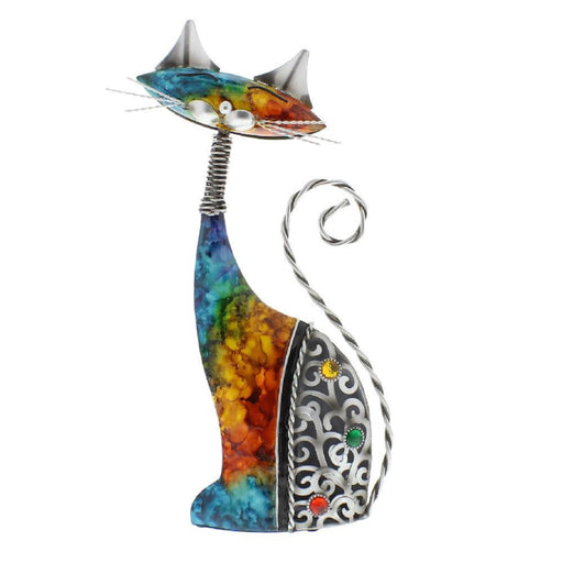 Country Living Hand Painted Metal Indoor / Outdoor Ornament