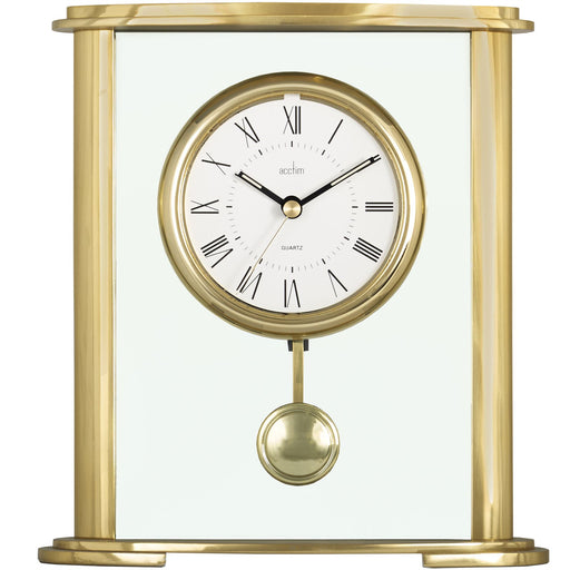 Acctim Welwyn Gold Mantel Clock