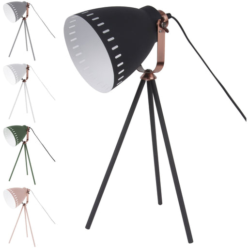 Leitmotiv Mingle 3 Legs Tripod Table, Desk & Bedside Lamp