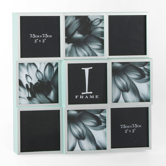 iFrame 9 Picture Multi Photo Frame