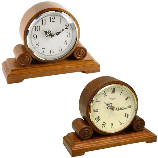 Wm.Widdop Qtz Mantel Clock