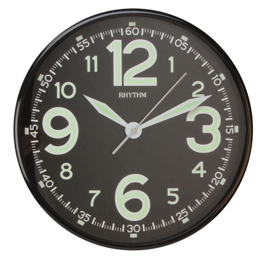 Rhythm Luminous Dial Wall Clock