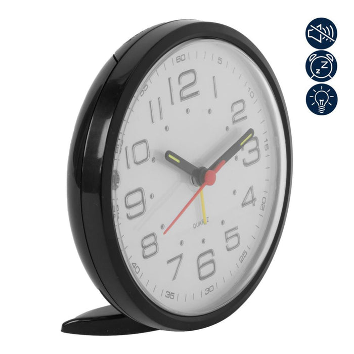 WM. Widdop Silent Movement Alarm Clock