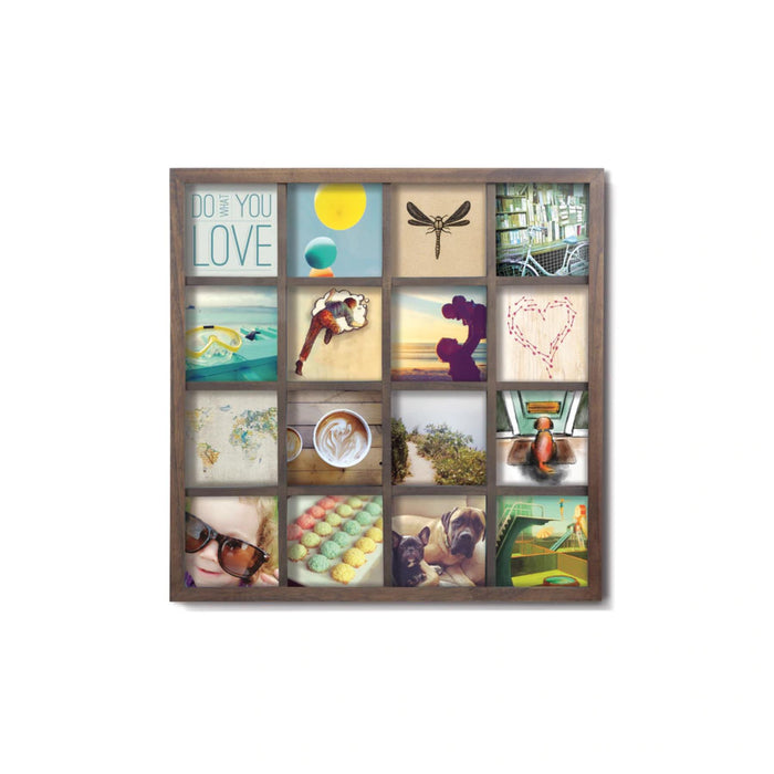 "Umbra Gridart 16 4""x4"" Pictures Photo Frame"