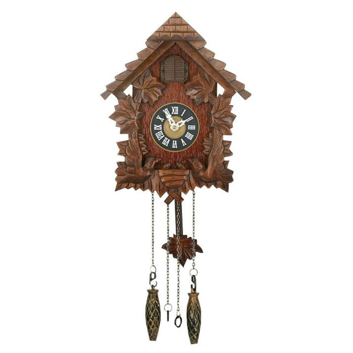 Wm. Widdop Pitched Roof Cuckoo Clock