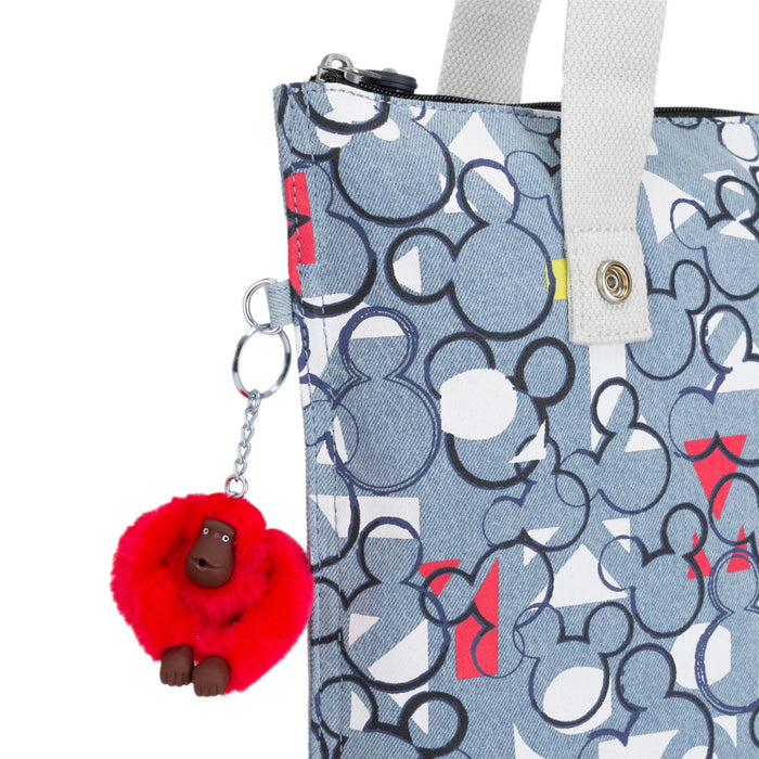Kipling Disney Myhiphry My HipHurray Threecheer Shopping Tote Bag