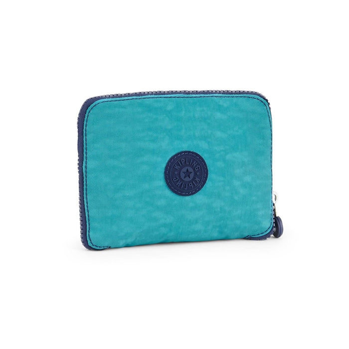 Kipling Hip Hurray 5 Turquoise Dream Folding Shopping Bag