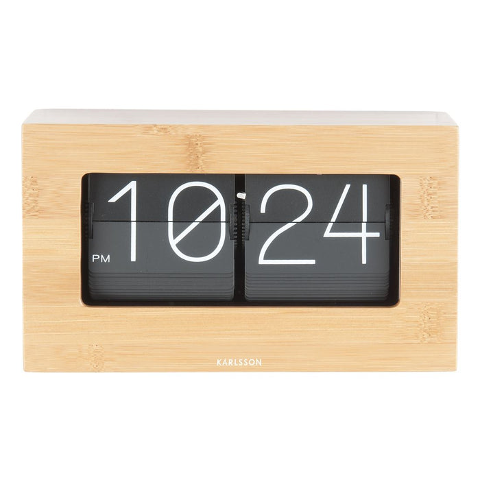 Karlsson Boxed Flip 21cm Table Clock