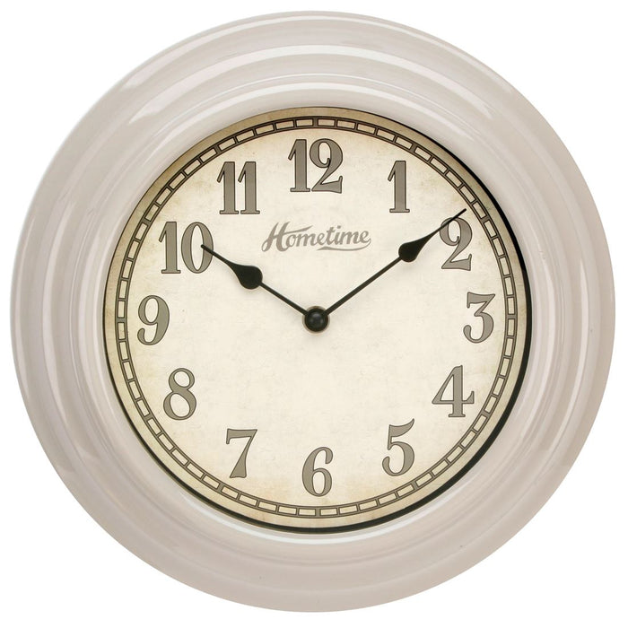 Hometime Retro 30cm Wall Clock